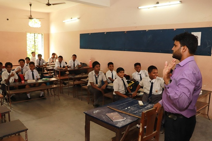 Holy Rock School-Class Room