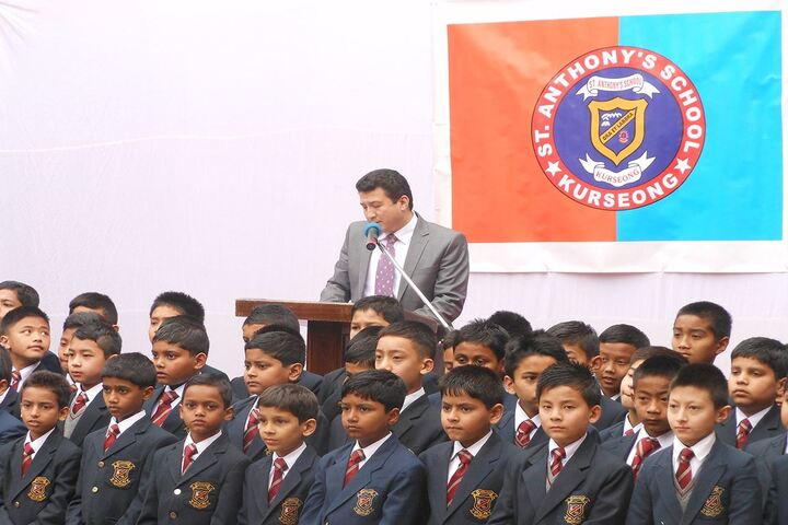 St Anthonys School-Speech