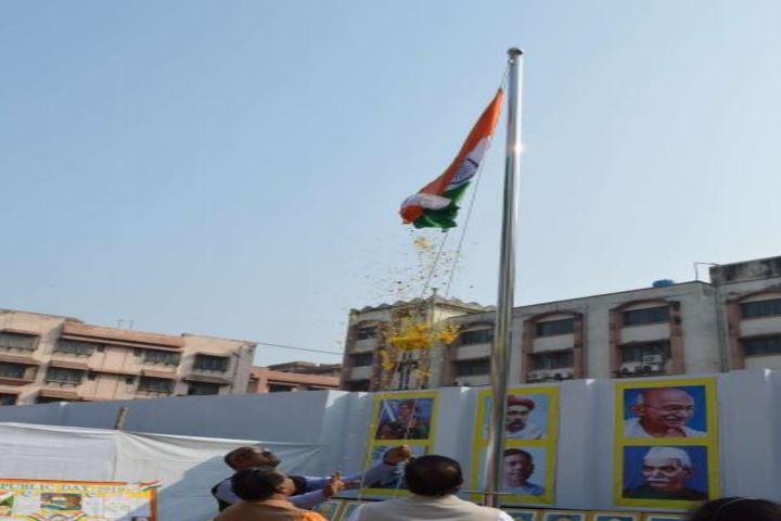 Agrasain Balika Siksha Sadan-Flag Host