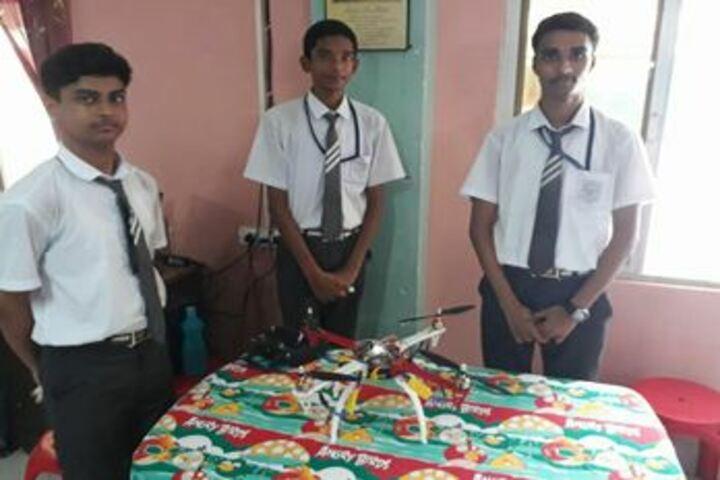 Douglas Memorial Higher Secondary School-Robotics Lab