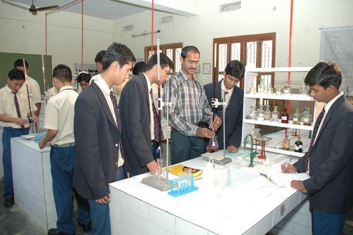 KCP Siddhartha Adarsh Residential Public School - Chemistry Lab