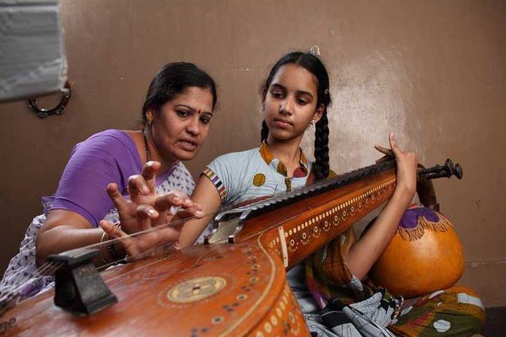 KCP Siddhartha Adarsh Residential Public School - Music Activity