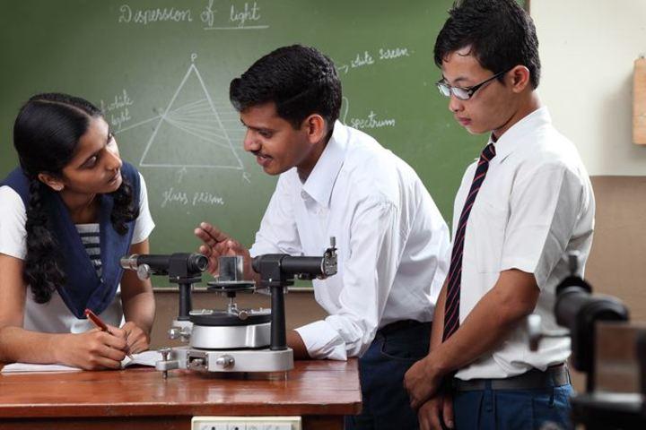 KCP Siddhartha Adarsh Residential Public School - Physics Lab