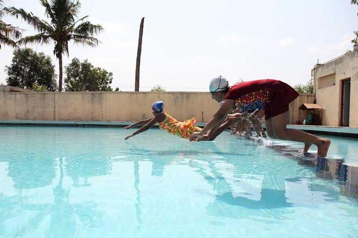 KCP Siddhartha Adarsh Residential Public School - Swimming
