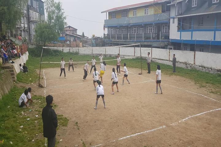 Camellia School-Volley Ball Court