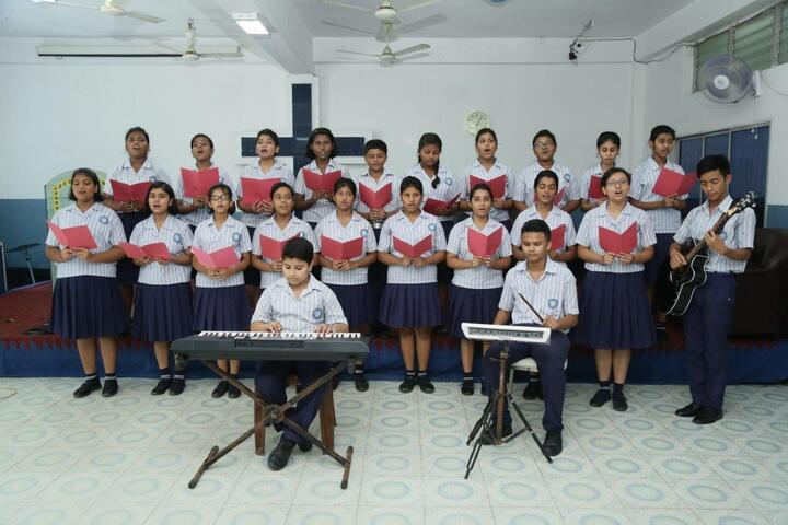Assembly Of Christ School-Music Room