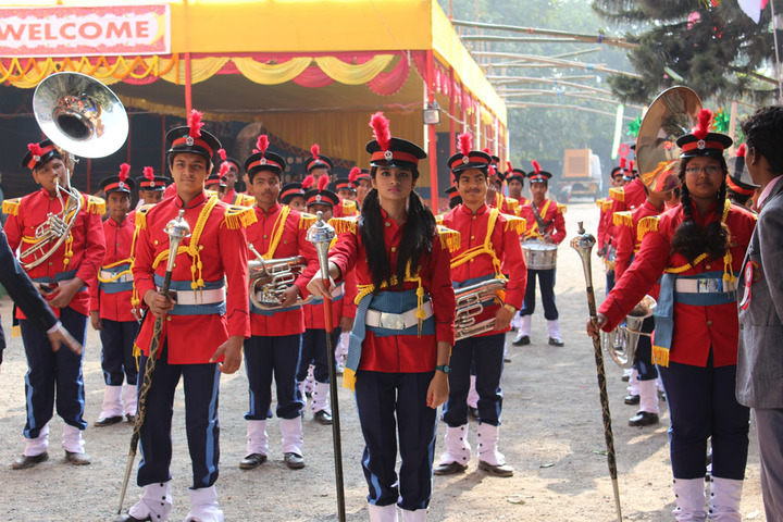 Holy Family School-Band Troop