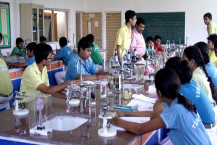 Adamas International School-Biology lab