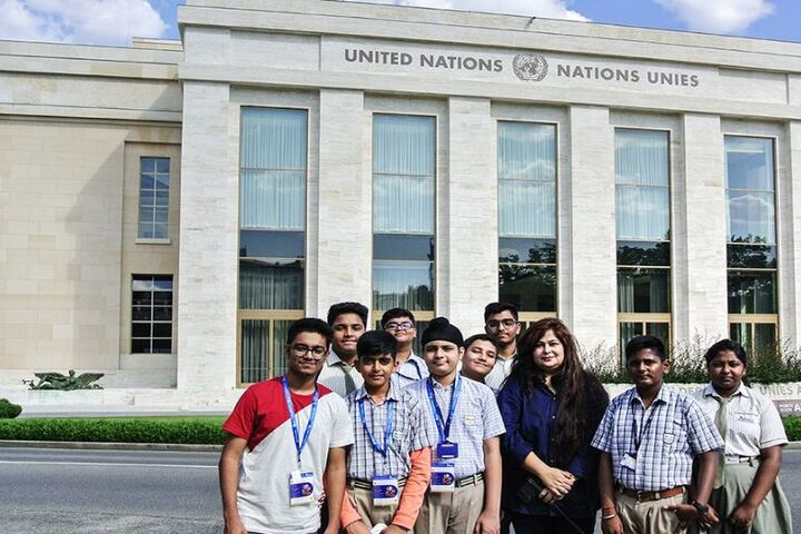 Adamas International School-Educational Tour to Europe