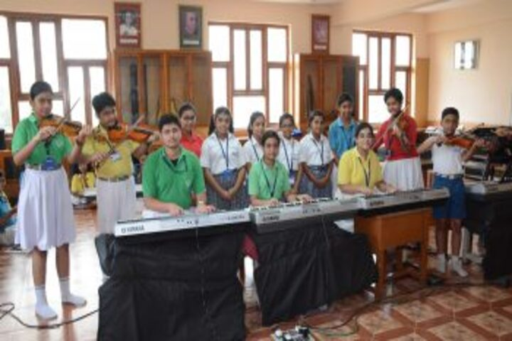 Adamas International School-Music Class