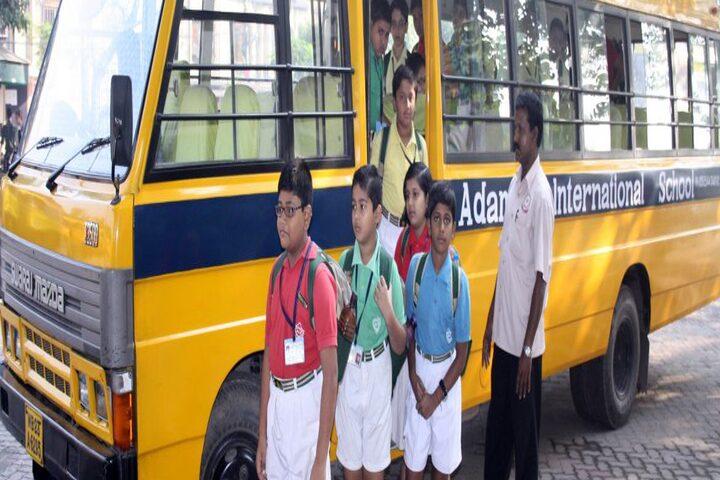 Adamas International School-Transport