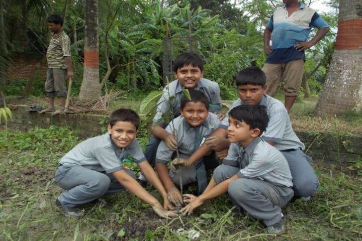 Bharat Academy and Sciences-Tree Plantation