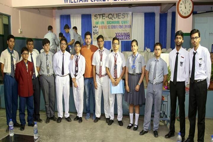 St Stephens School-Quiz Participants
