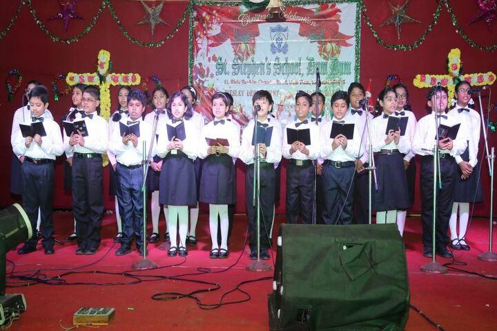 St Stephens School-Singing