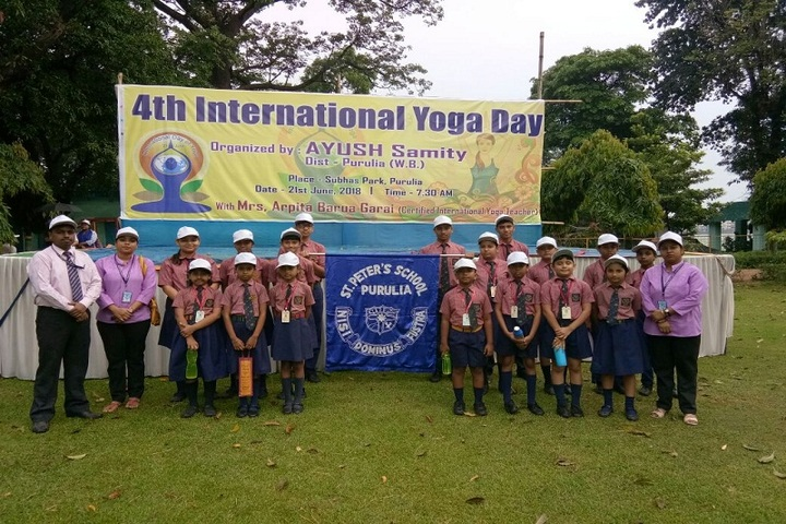 St Peters School-International Yoga Day