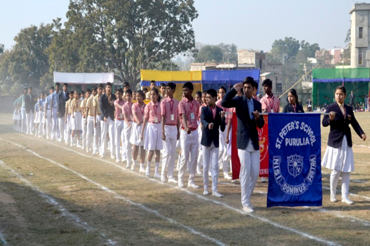 St Peters School-Sports Meet