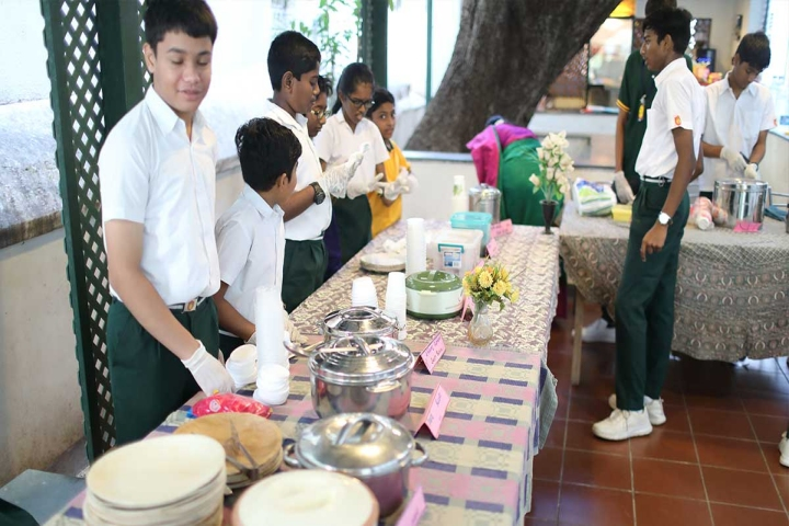 M.C.T.M Chidambaram Chettyar International School-Food festival
