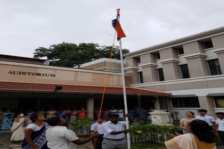 M.C.T.M Chidambaram Chettyar International School-Independence Day