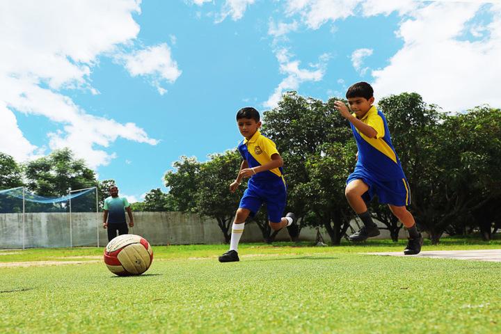 Caledonian International School-Football