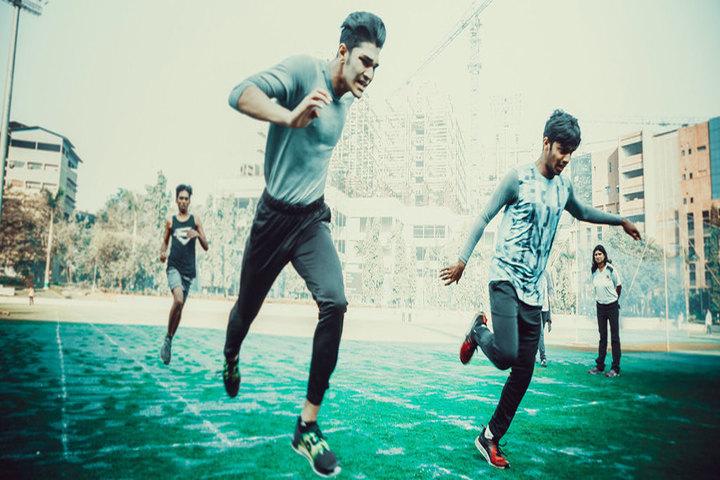 D Y Patil International School-Race