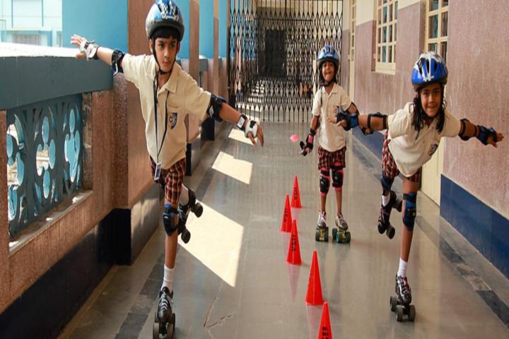 Don Bosco International School-Skating