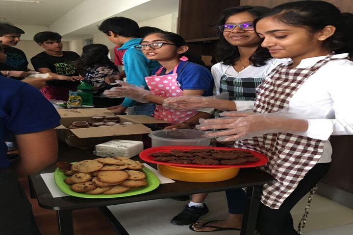 Hiranandani Upscale School-Cooking Compitation