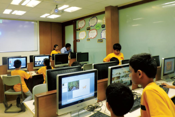Computer Lab of School