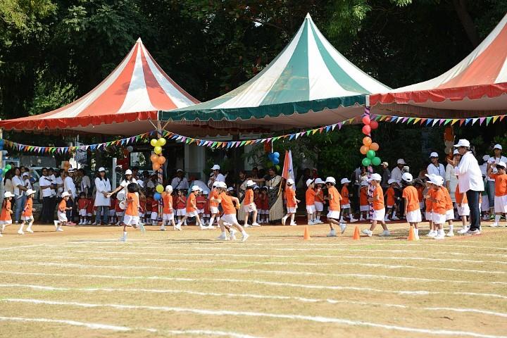 aLphabet international school-sports day