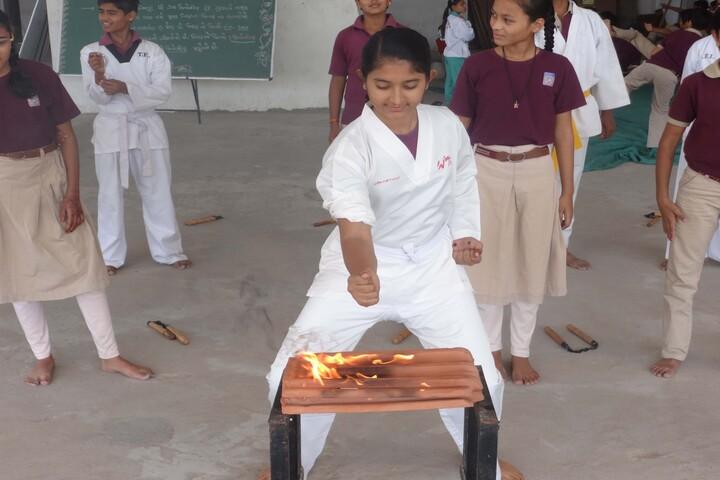 Devasya International Public School-Karate