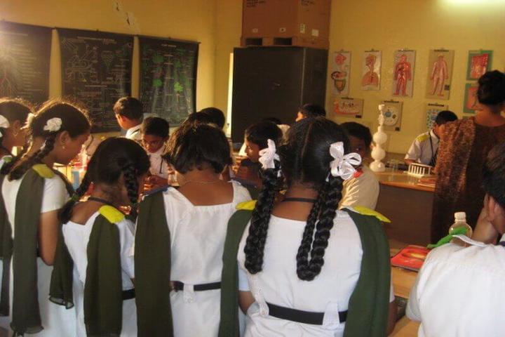 Kavirayani Public School-Biology Lab