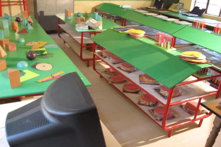 Kavirayani Public School-Math Lab