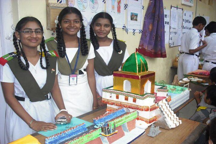Kavirayani Public School-Science Exhibition
