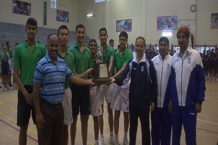 The Rashtriya Indian Military College-Basket Ball Winner