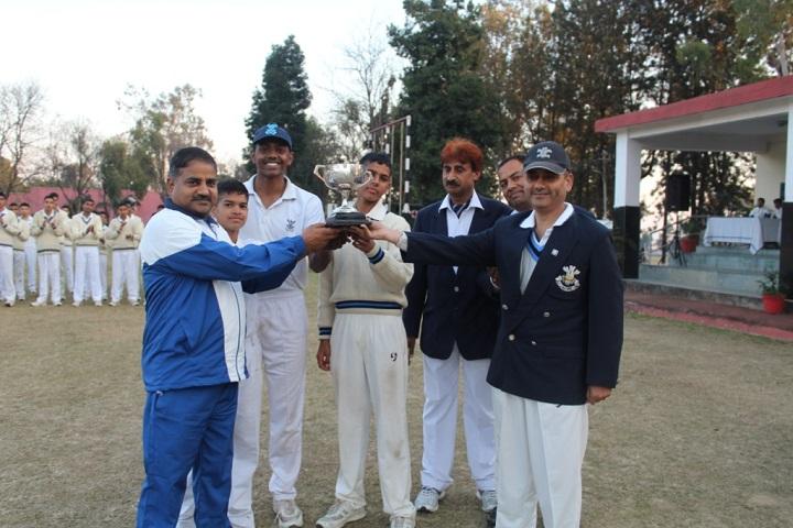 The Rashtriya Indian Military College-Cricket Winner