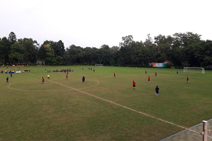The Rashtriya Indian Military College-Play Ground