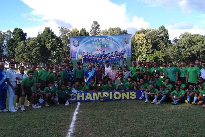 The Rashtriya Indian Military College-Soccer Winner