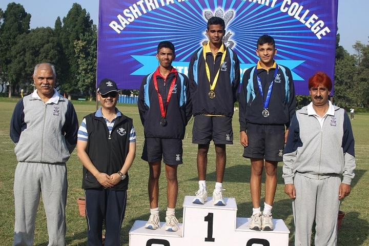 The Rashtriya Indian Military College-Sports Winner