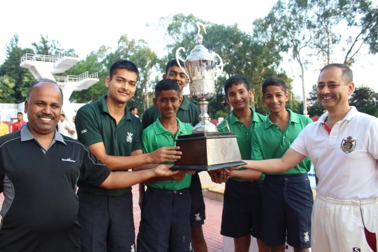 The Rashtriya Indian Military College-Swimming Pool Winner