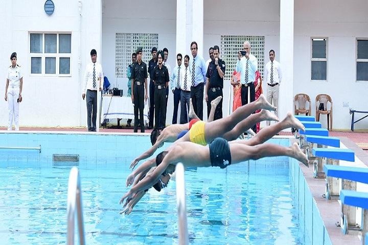 The Rashtriya Indian Military College-Swimming Pool