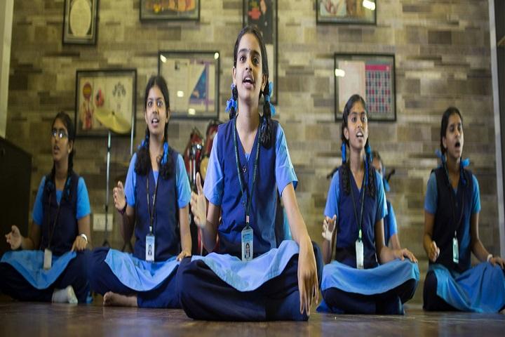 Velammal Matriculation Higher Secondary School-Music Class