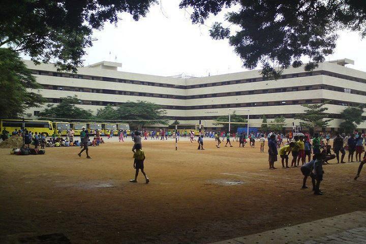 Velammal Matriculation Higher Secondary School-Play Ground