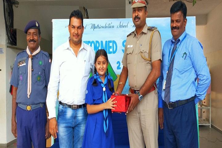 Velammal Matriculation Higher Secondary School-Prize