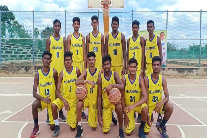 Velammal Matriculation Higher Secondary School-Sports Team