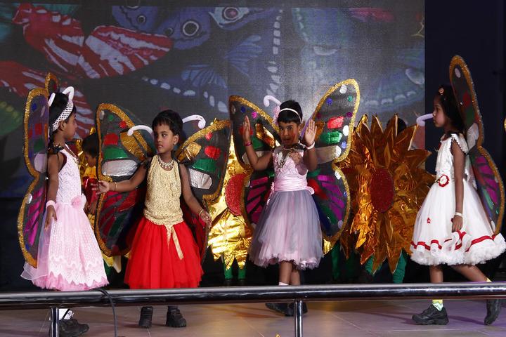 Madras Christian College Matriculation Higher Secondary School-Kids Dance