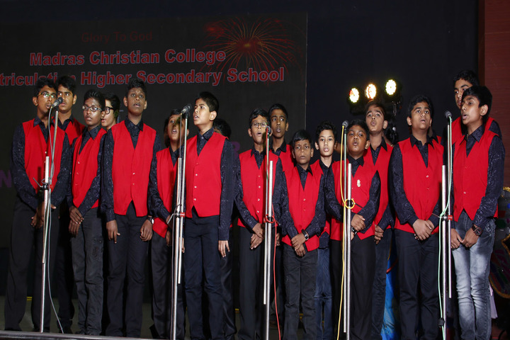 Madras Christian College Matriculation Higher Secondary School-Music Competition