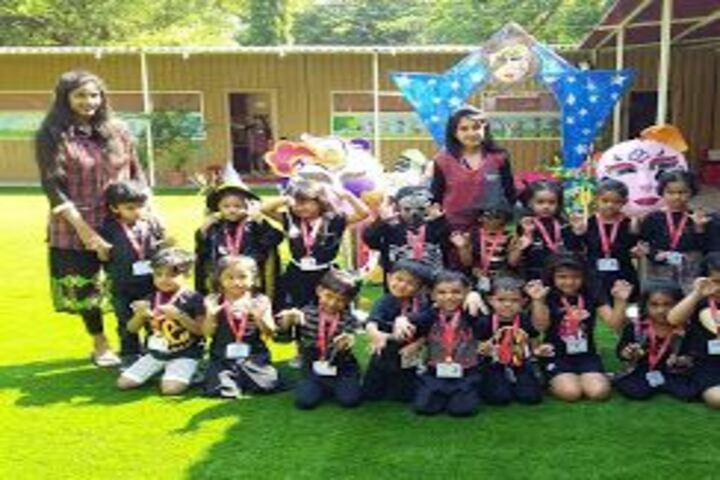 Witty International School-Hallowen Day