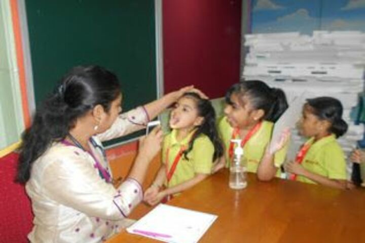 Witty International School-Medical Check Up