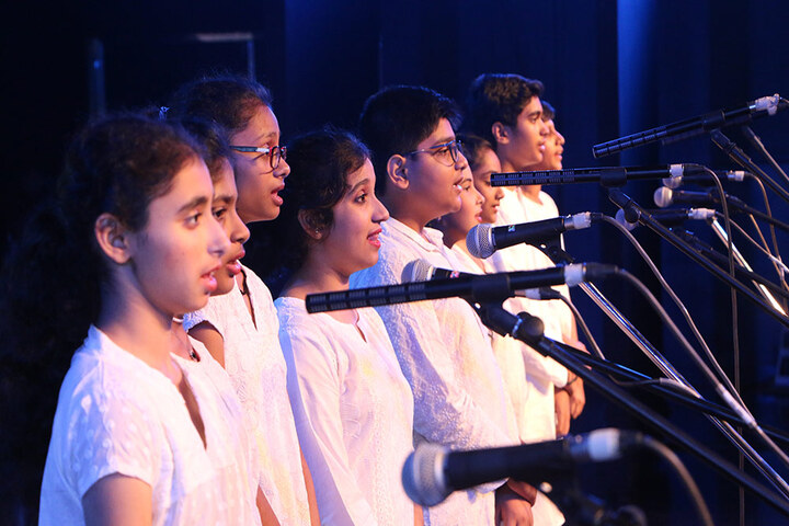 Bombay Cambridge International School-Singing