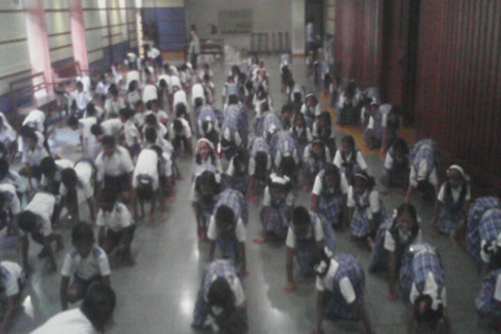 SIES High School-Yoga Day