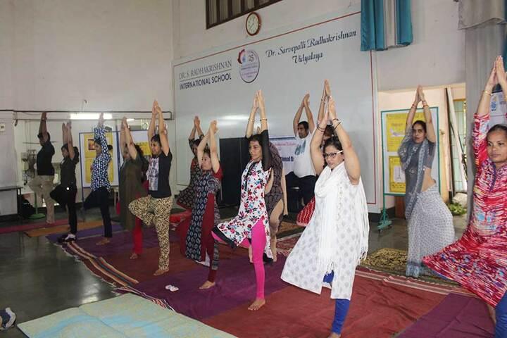 Dr S Radhakrishnan International School-Yoga